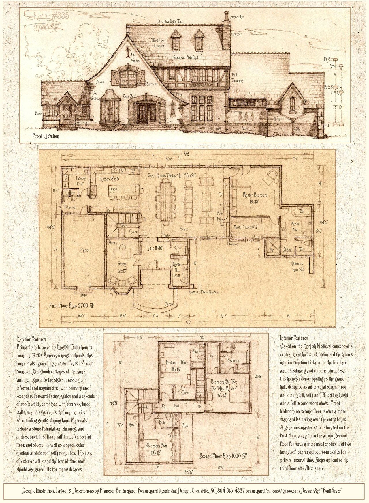 House 335 A Tudor Storybook Luxury Home By Built4ever