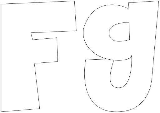 MOLDES DE LETRAS PARA IMPRIMIR | Logos, Manualidades and Tes