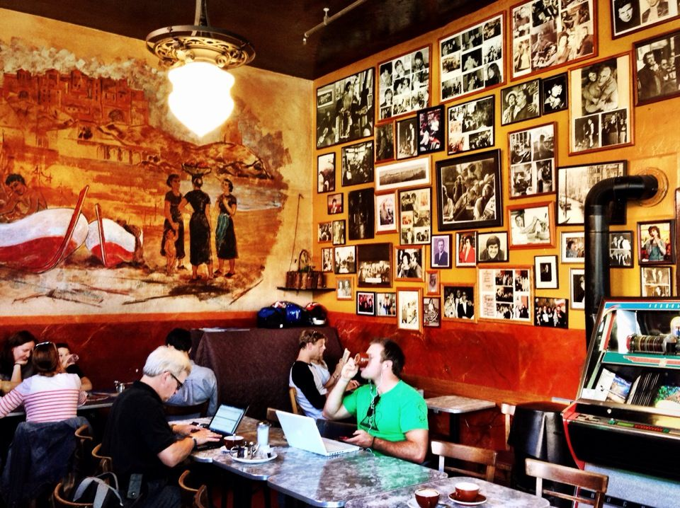 Caffe Trieste Said to be the first espresso house on the