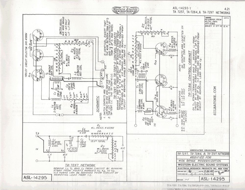 Western Electric 15 a- your opinions (page 1) - Loudspeakers - Lenco on