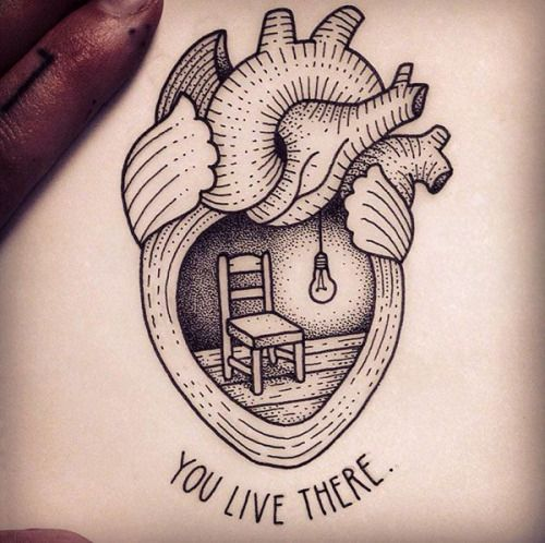 111 Cool Things To Draw Drawing Ideas For An Adventurer S Heart Tattoos Heart Tattoo Tattoo Design Drawings