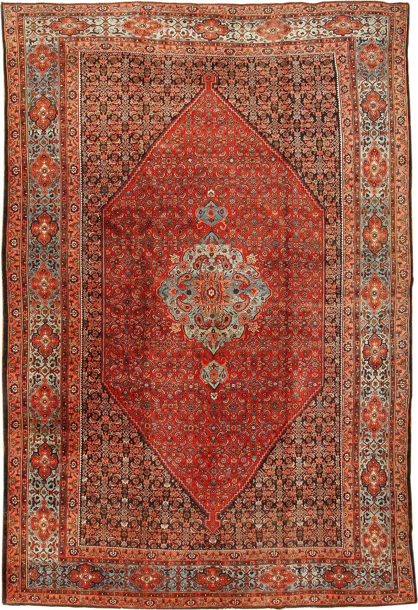 Antique Persian Bidjar Rug 42158