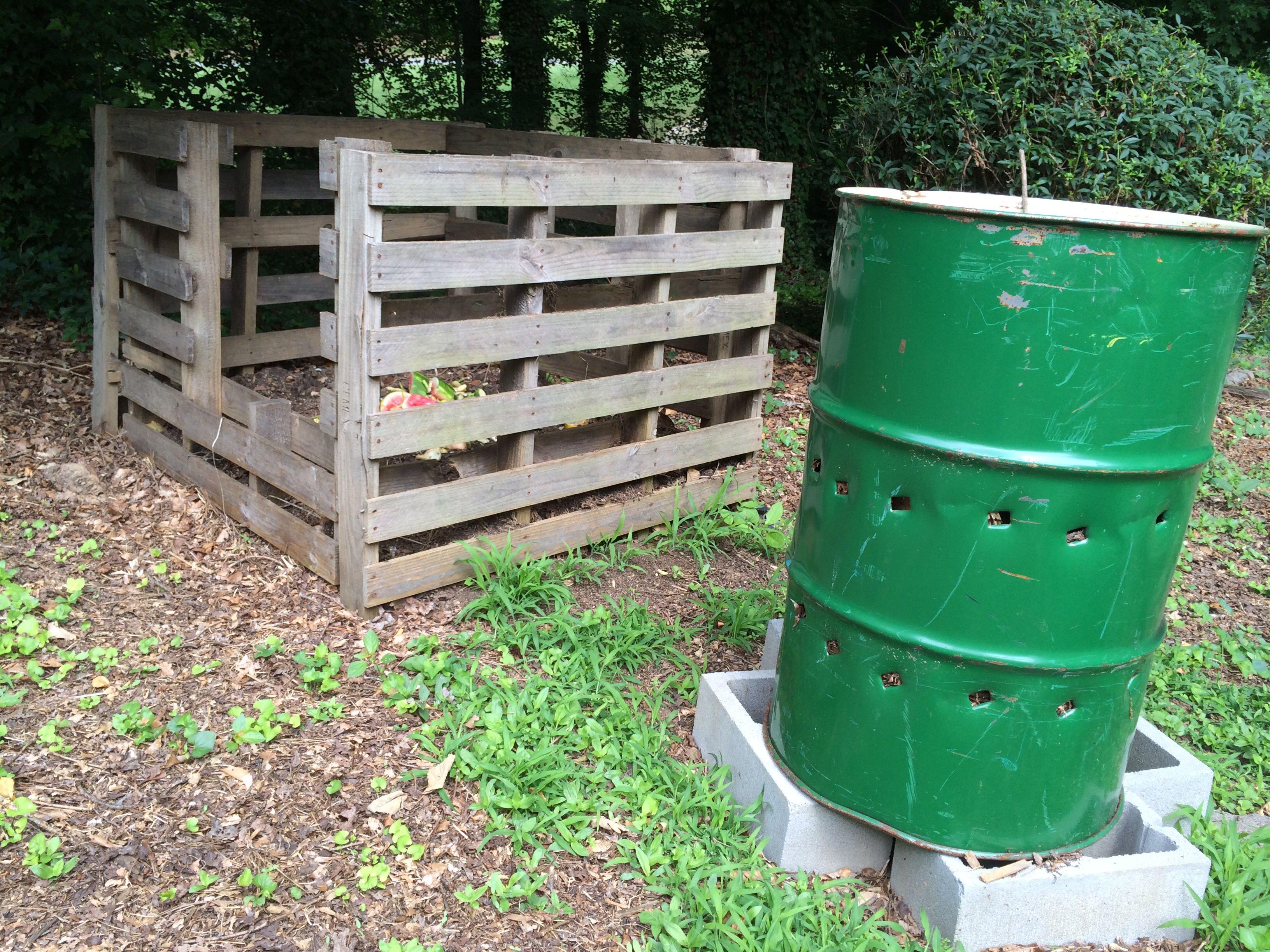 Compost bin and burn barrel barrel fire pit burn barrel