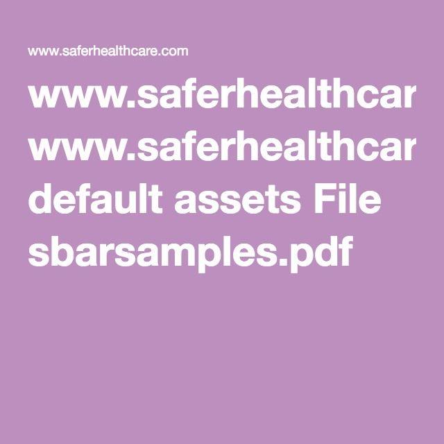 Sbar Worksheet Nursing Pinterest Sbar