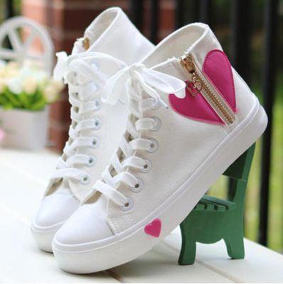 Cute students canvas shoes Cute Kawaii Harajuku Fashion Clothing - clothing sponsorship