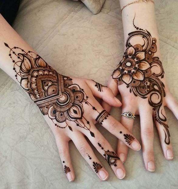 Back Hand Mehndi Design Henna Tattoo Designs Henna Designs Hand