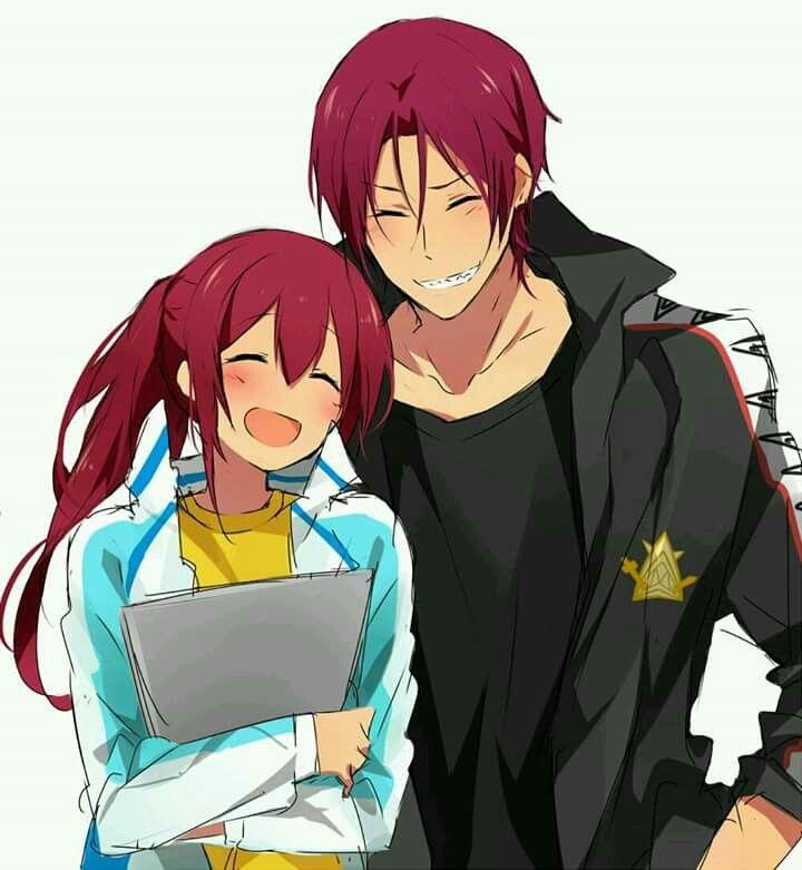 Free Rin Gou Free Anime Anime Siblings Free Iwatobi
