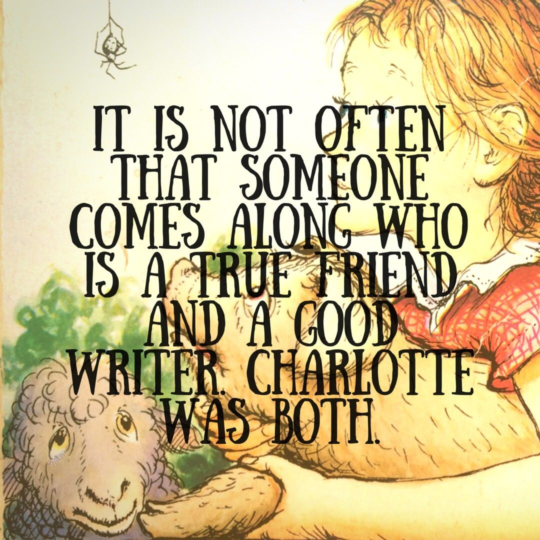 Charlotte Quotes From Charlotte's Web
