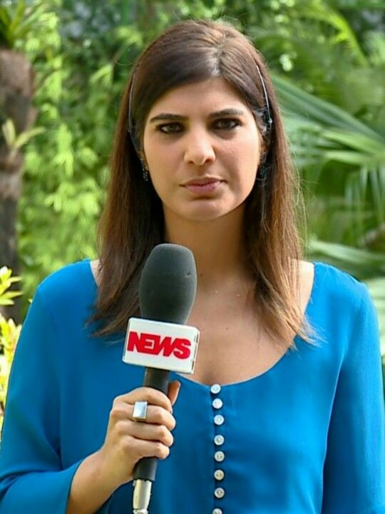 Brazilian TV Reporter Andreia Sadi Bela Televis U00e3o E Cinema