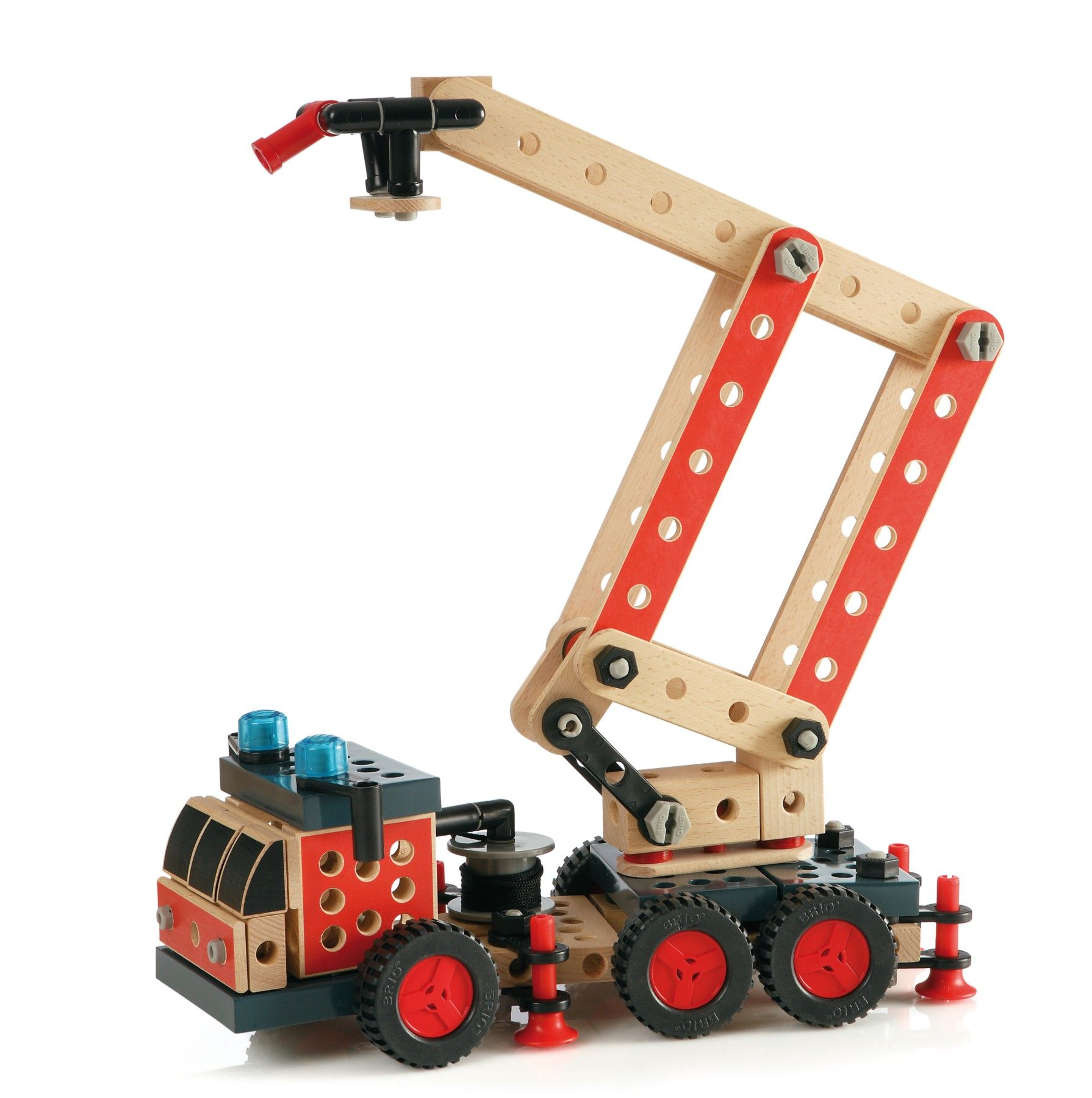 Sensational Brio Builder System Fire Truck Builder Oyuncak Brio Theyellowbook Wood Chair Design Ideas Theyellowbookinfo