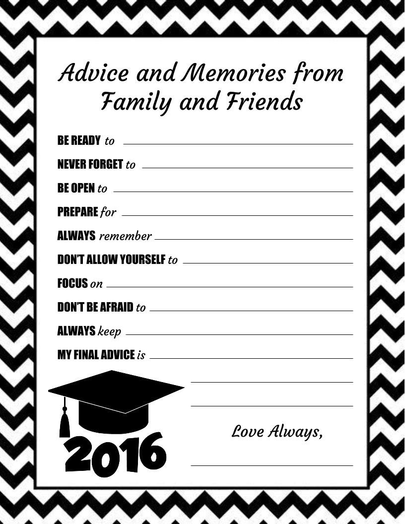 mackenzie u0026 39 s advice cards for high school graduation