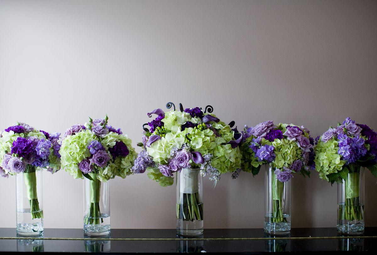 Purple Spring Flowers Wedding Best Flowers For Spring Weddings In
