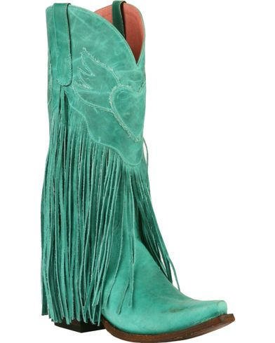 9a1e7a35b Junk Gypsy by Lane Women's Turquoise Dreamer Boots - Snip Toe - Country  Outfitter