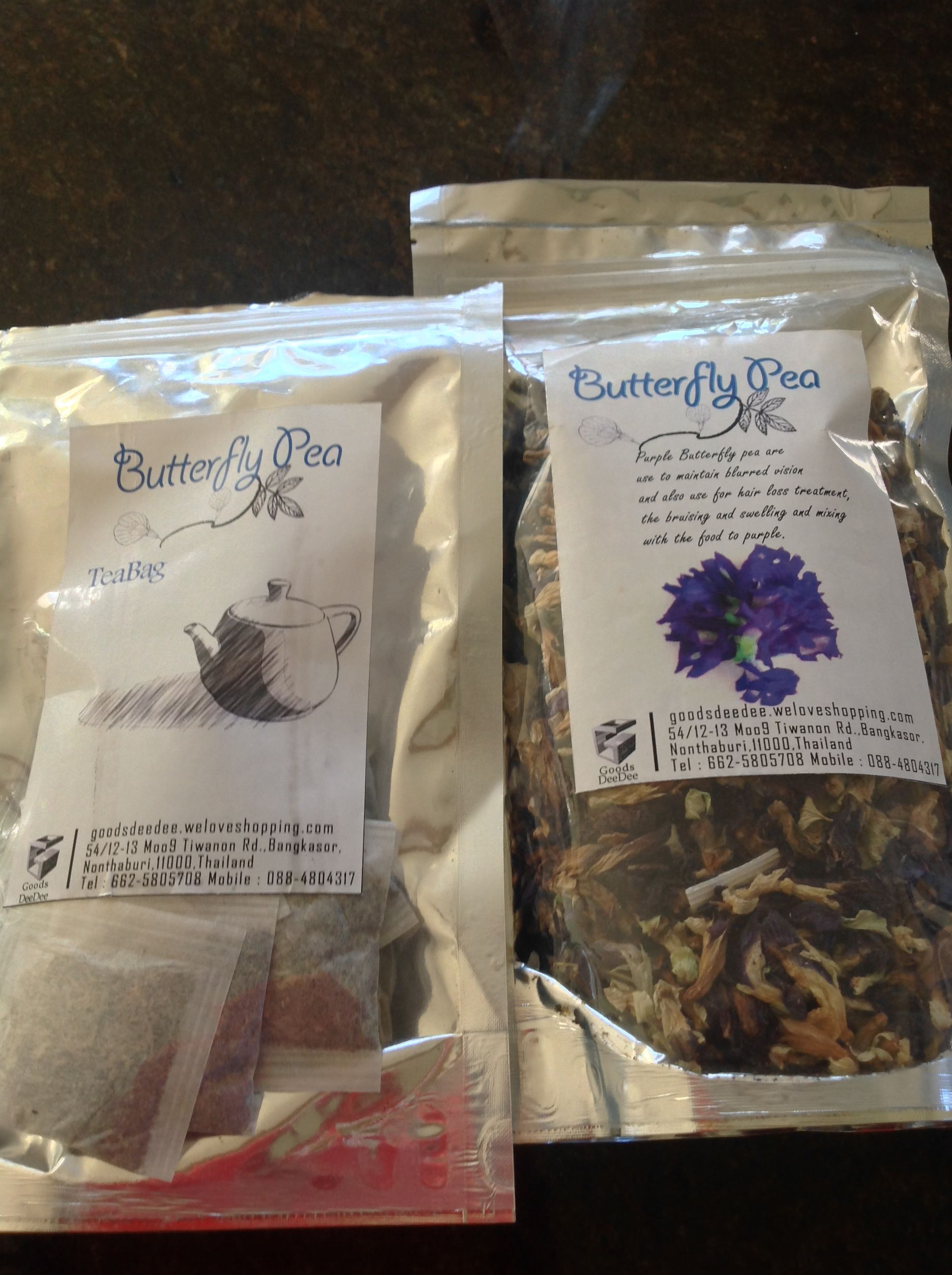Make Delicious Blue Color Tea With Erfly Pea Flower