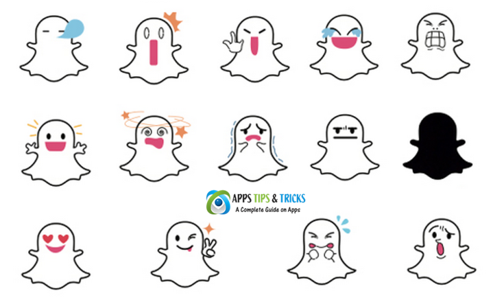 Snapchat Ghost Meaning What Do the Different White