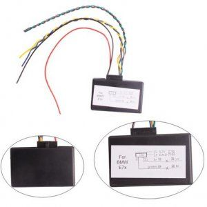 for bmw cic retrofit adapter model is e7x. cic emulator is also, Wiring diagram