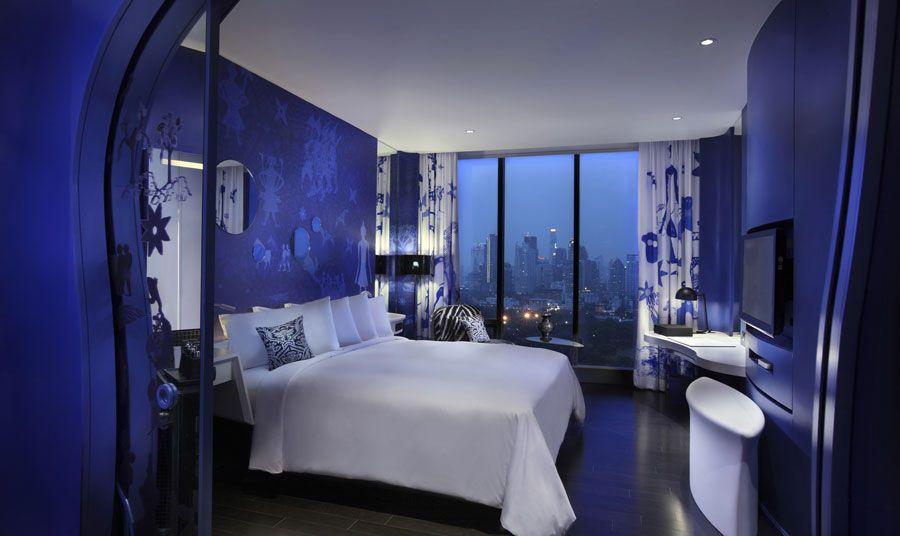 Camera Da Letto Blu Cobalto : Hotel da sogno da visitare almeno una volta nella vita