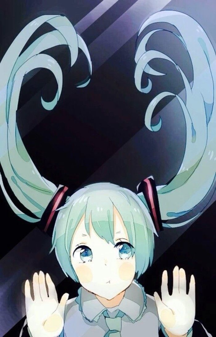 anime trap phone wallpaper anime behind glass lock screen
