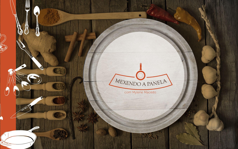 Logotipo aplicado em capa de projeto