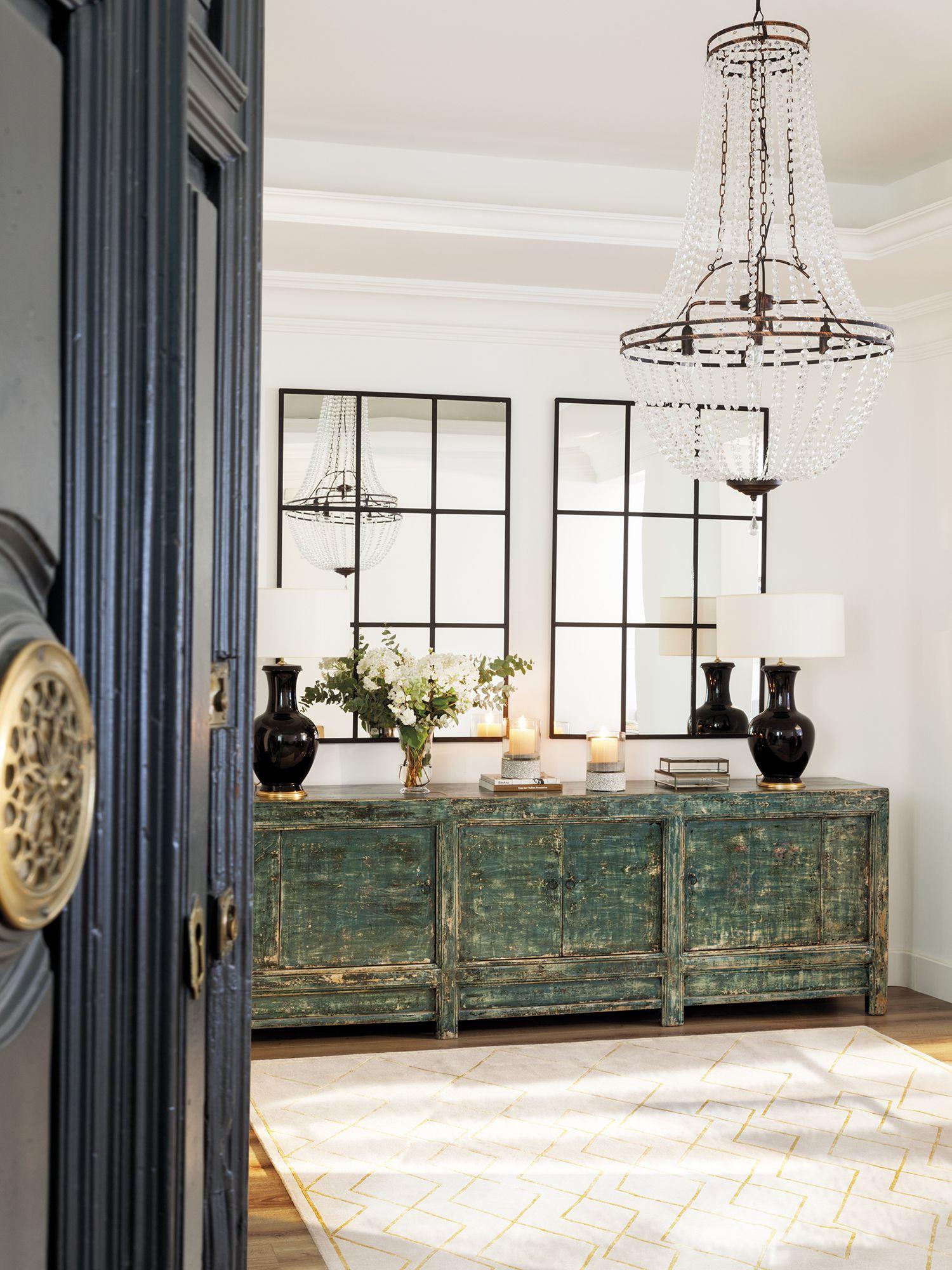 Tengo ganas de algo más suave | Muebles verdes, Madera envejecida y ...