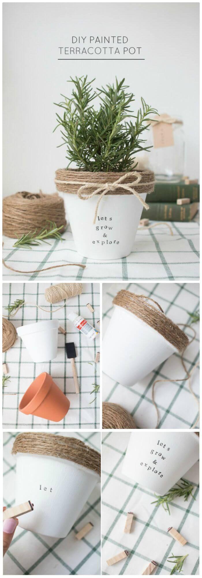 19 dollar store pots ideas