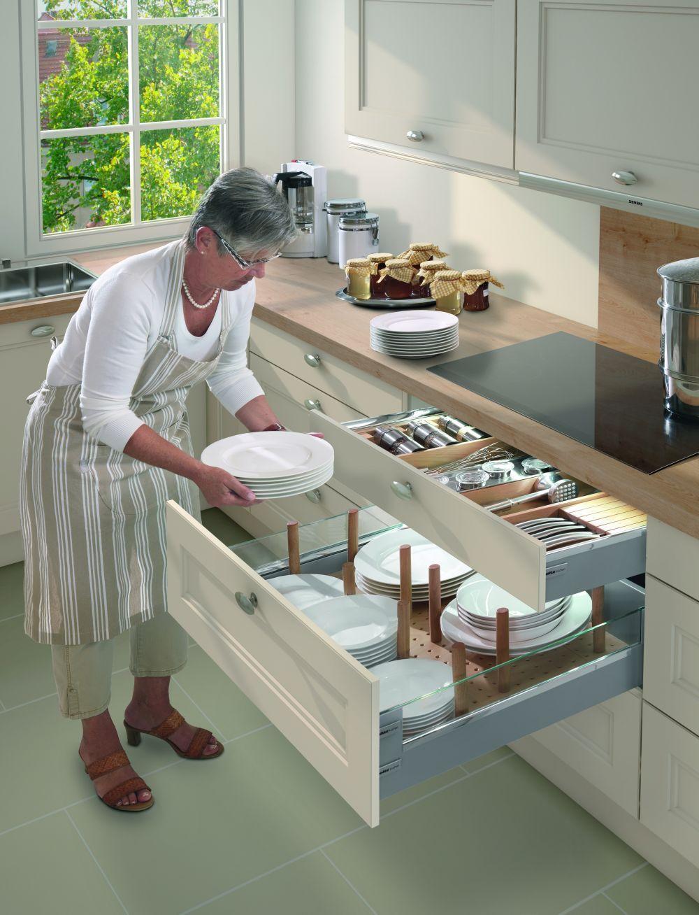 in foto bucatarie Nolte Windsor detaliu sertar | Kitchen | Pinterest ...
