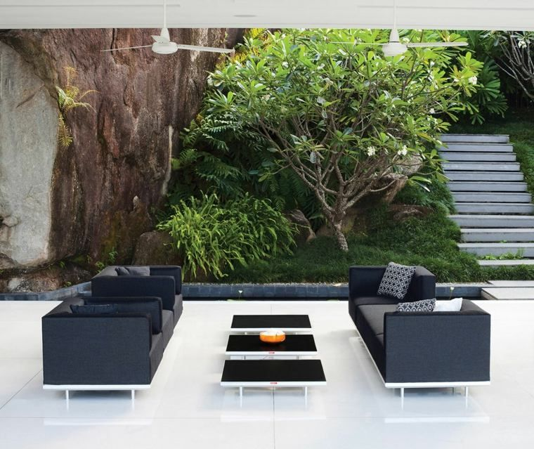 Salon de jardin extérieur moderne, design et stylé | moderne Gärten ...