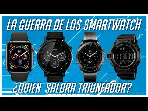 Batalla de Smartwatch  ¿Cual ganara? Apple Watch, Galaxy
