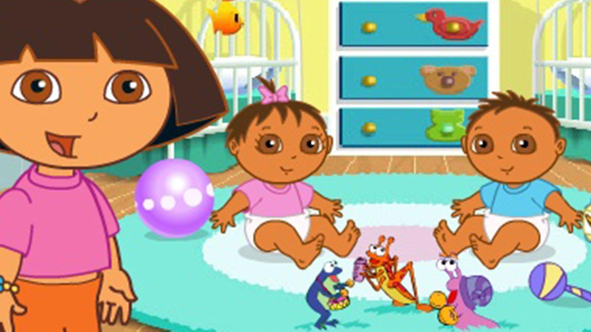 http://atvnetworks.com/ Dora The Explorer - Dora Babysitting & Farm Helping Dora Games for Kids