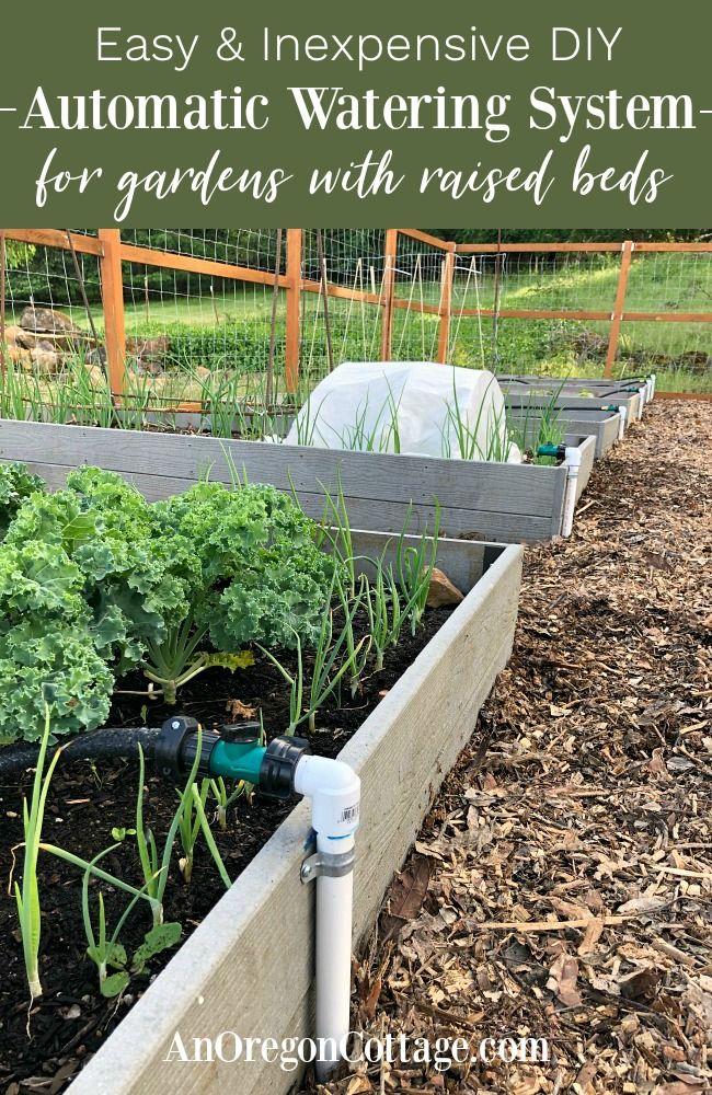 Diy Garden Watering System Easy Inexpensive 400 x 300