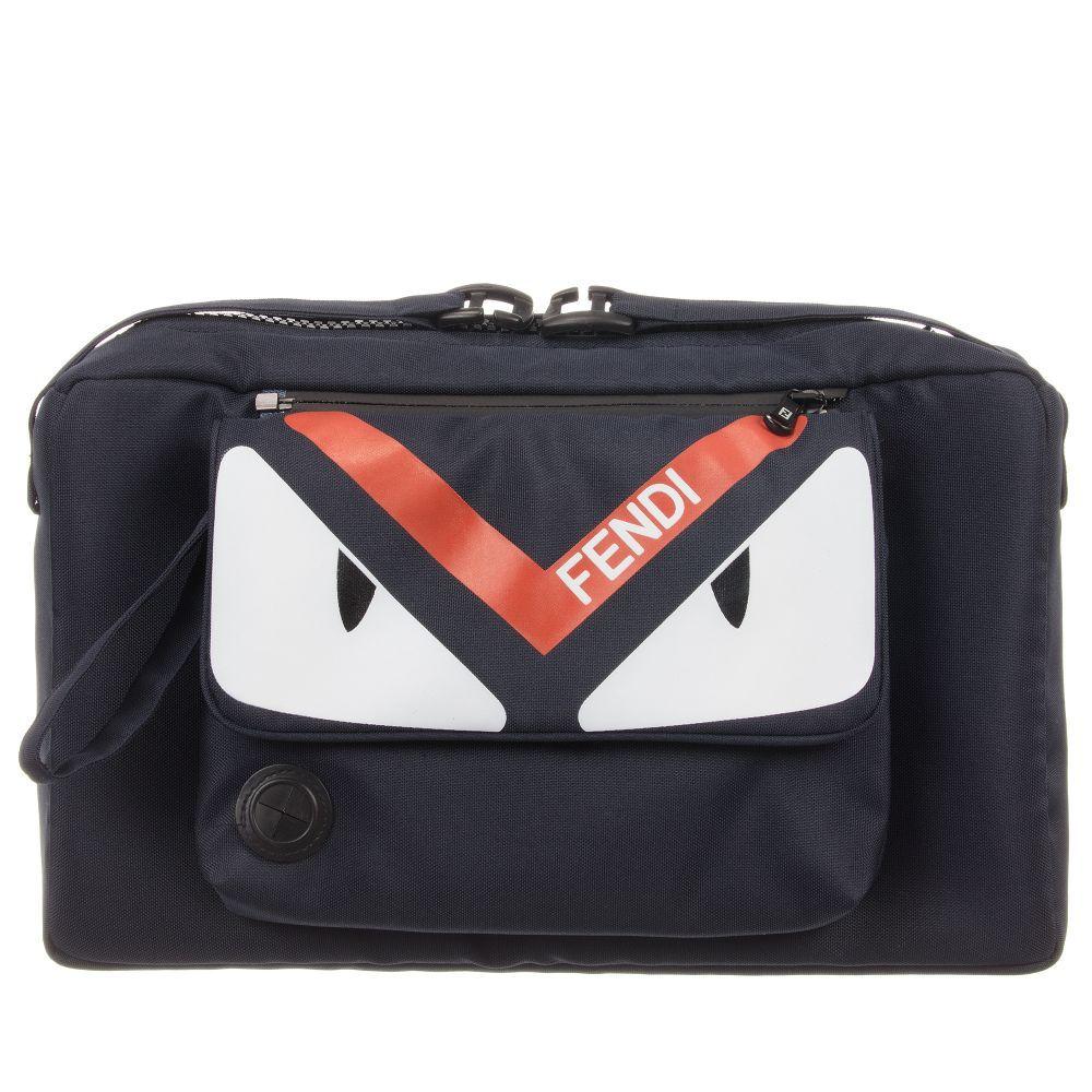 Fendi - Blue Stroller Baby Bag (35cm)  262f09159e44d