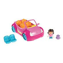 Fisher-Price Dora the Explorer Playtime Together Family Adventure Car