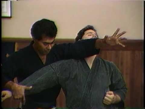 Explosive Techniques of  Aikijujutsu Bernie Lau - YouTube