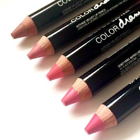 Maybelline Color Drama Intense Velvet Lip Pencil #lipstick #lippencil #bblogger
