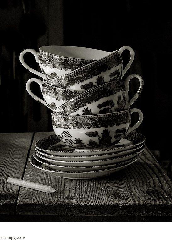 Kristoffer Albrecht, Tea Cups, 2016