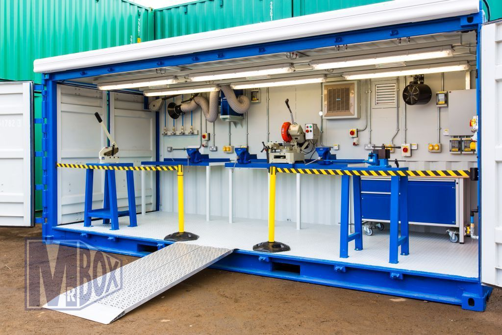 Portable Shed Conversion Car Paint Booth