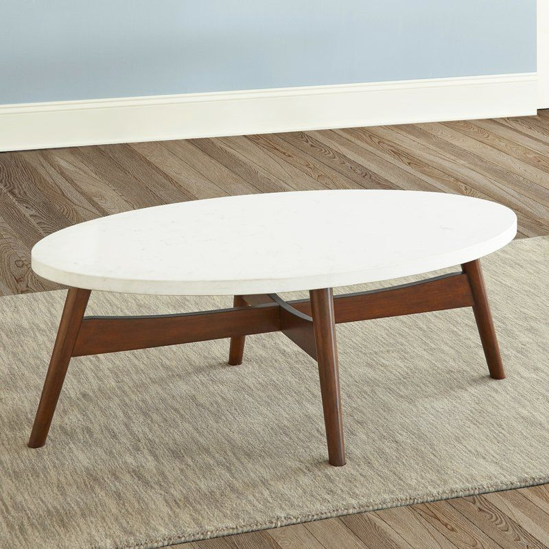 George Oliver Wooten Coffee Table Reviews Wayfair Coffee Table Oval Coffee Tables Contemporary Coffee Table