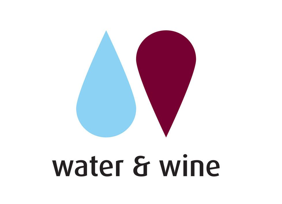 Water & Wine Logo