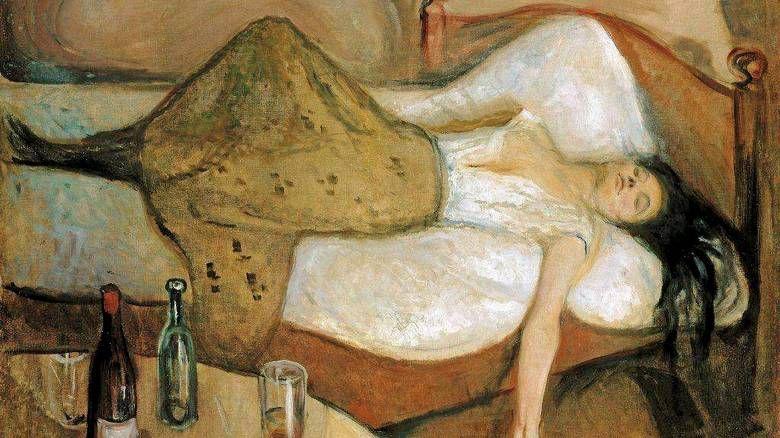 Dagen derpå - Edvard Munch
