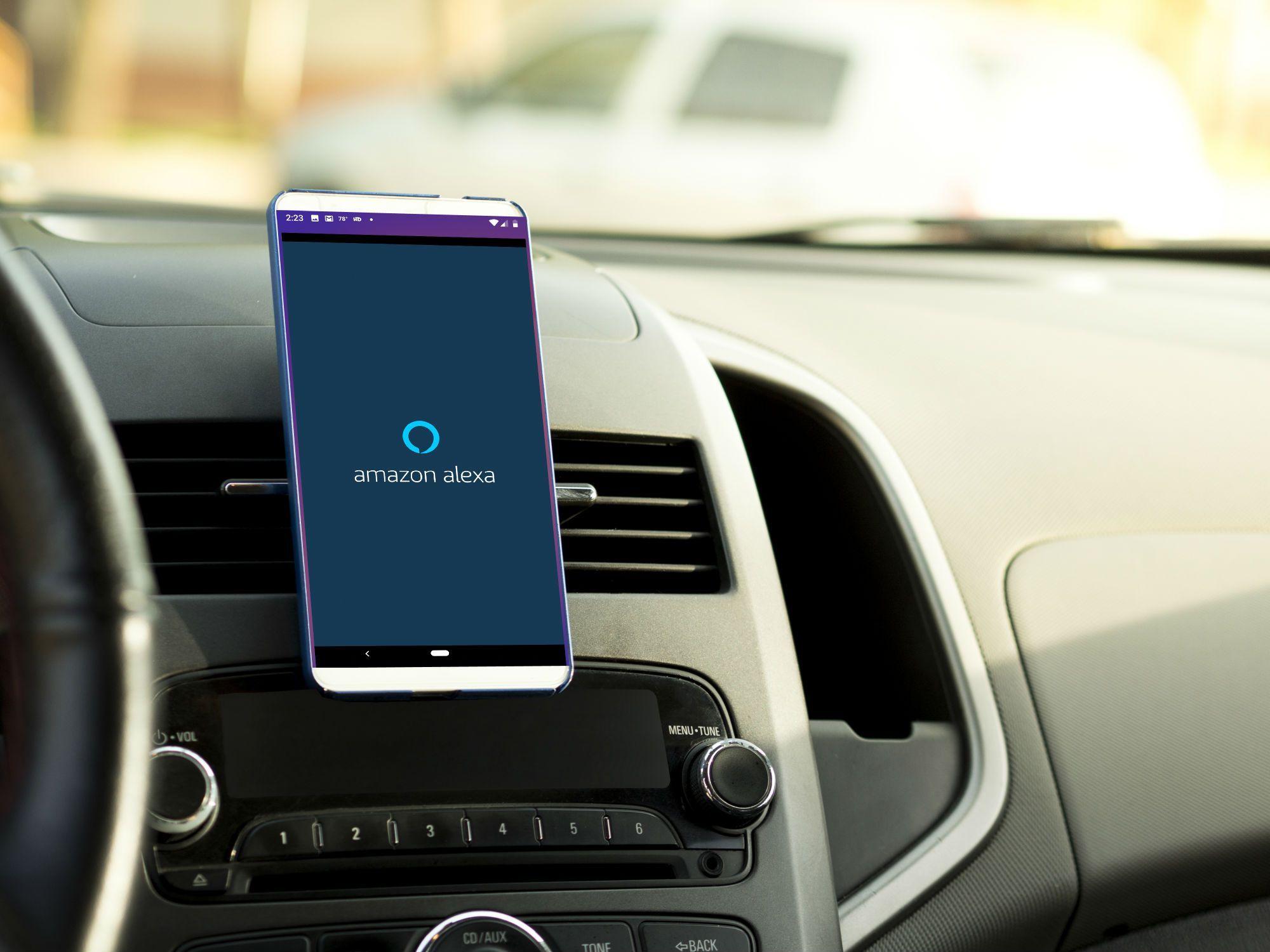 How to Get Amazon Alexa in Your Car Alexa device, Alexa