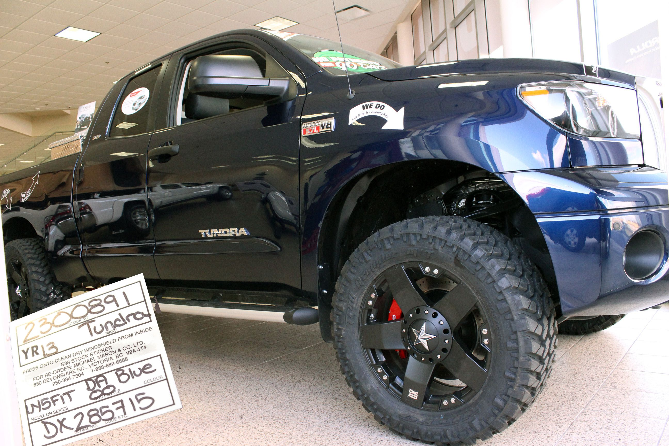Toys For Trucks Calgary : Blue toyota tundra pickup truck for sale in calgary
