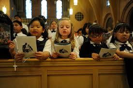 catholic school kids