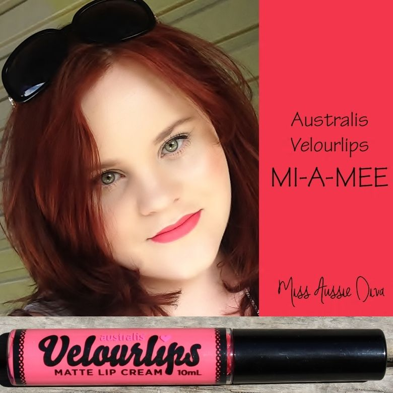 Australis Velourlips in MI-A-MEE from www.MissAussieDiva.com