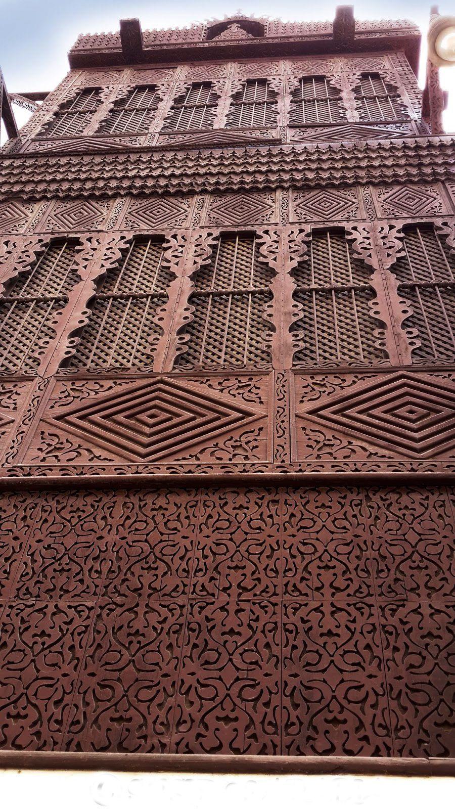 Amazing quality woodwork on Jeddah\'s Tayebat Museum.   Islamic ...