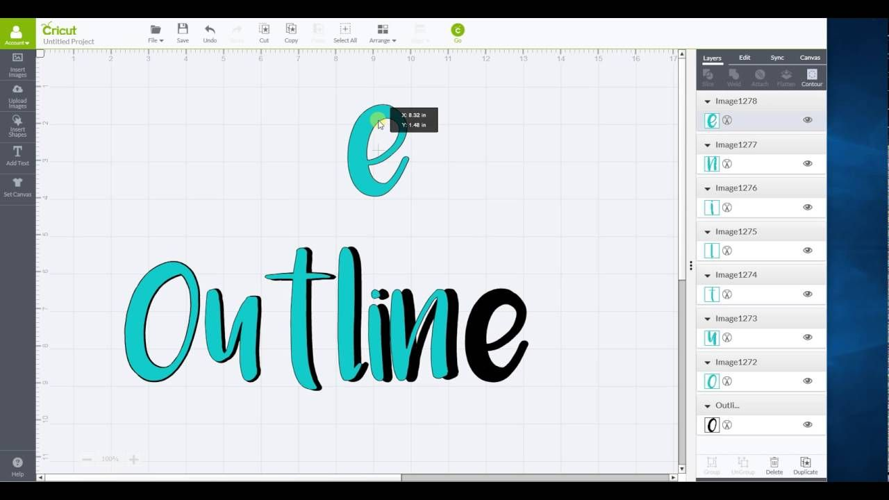 Outline words in Cricut Design Space | Cricut - Design Space