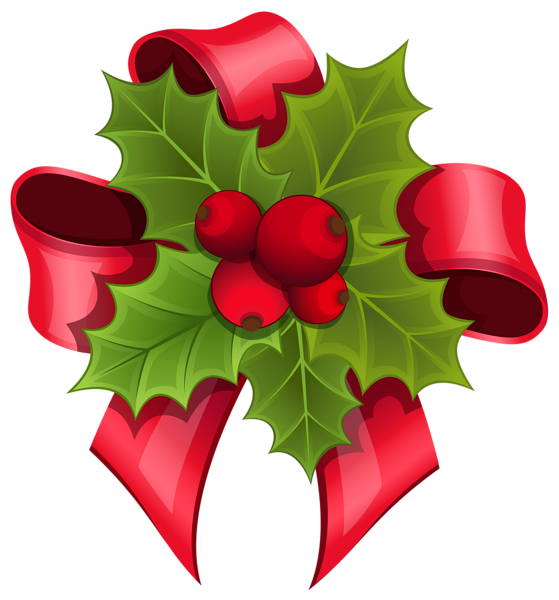 Mistletoe With Red Bow Png Clipart Image Christmas Bouquet Holiday Clipart Christmas Prints