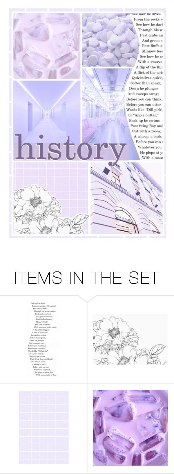 """""""My history notebook cover"""" by honeyrush on Polyvore featuring art and wallpaperbylouisa"""