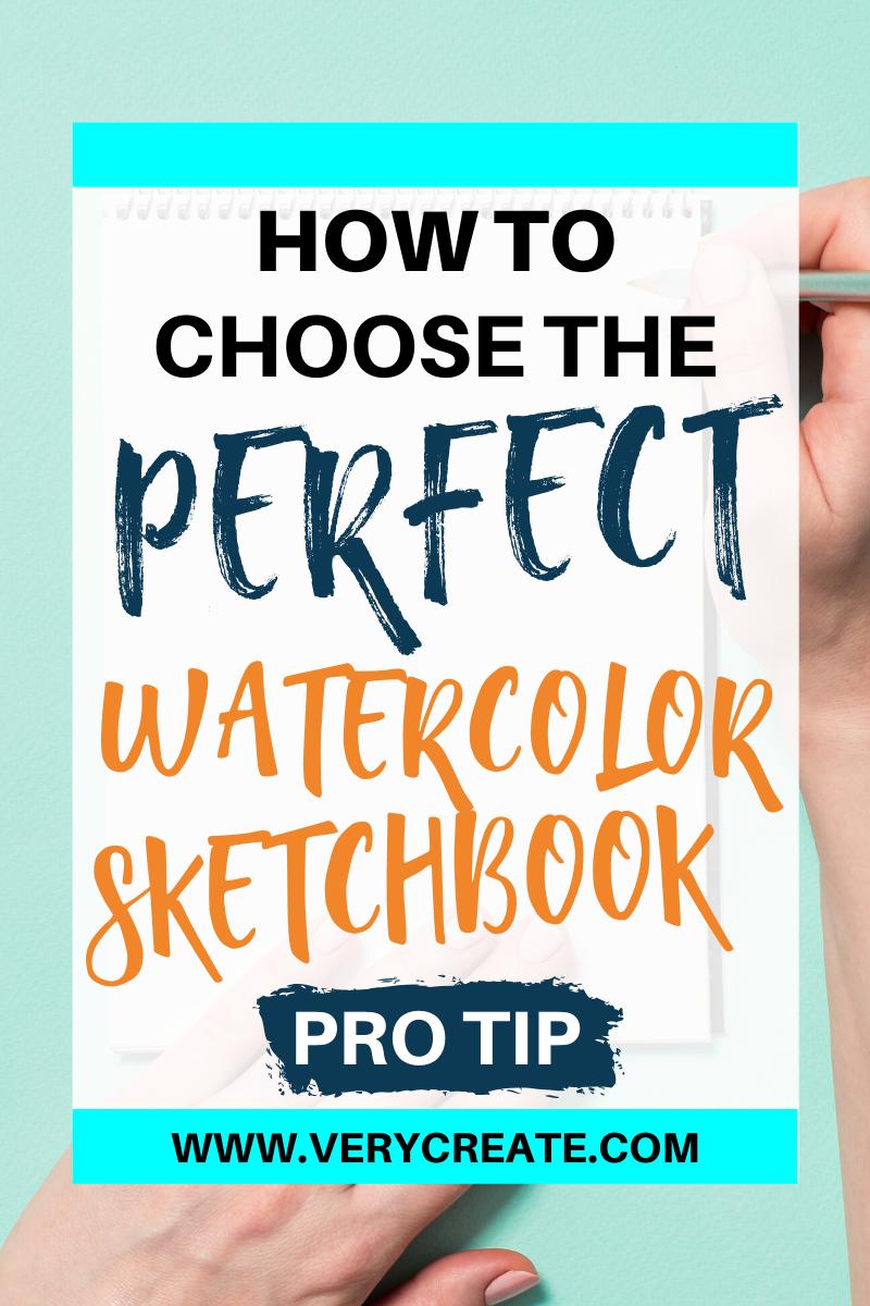 Best Watercolor Sketchbook : watercolor, sketchbook, Watercolor, Sketchbook, Reviews, READ!), VeryCreate.com, Sketch, Book,, Sketchbook,, Supplies