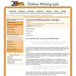 purdue annotated bibliography example