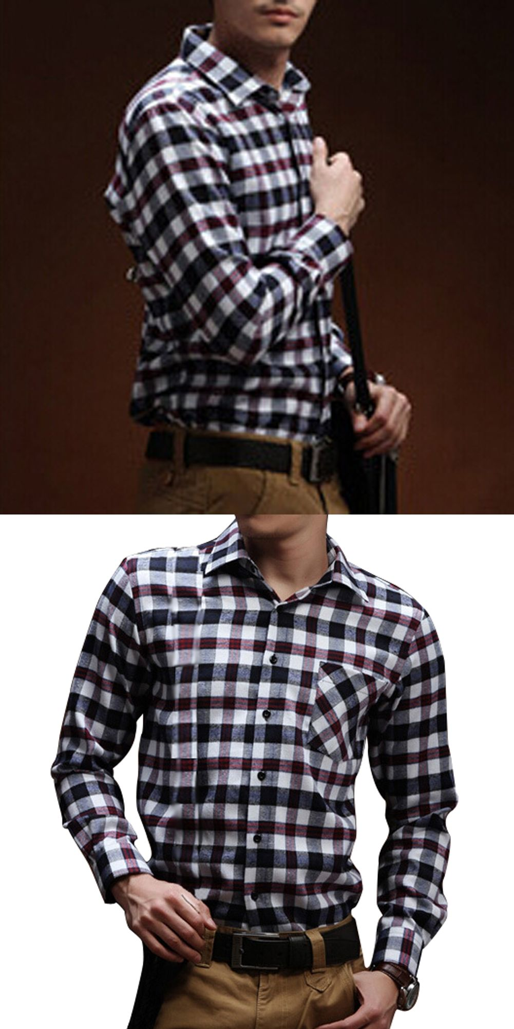 Mens Shirts Casual Slim Fit Stylish Mens Dress Shirts Men Fashion